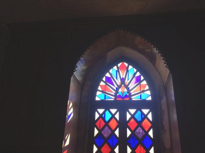 fenêtre de la sacristie